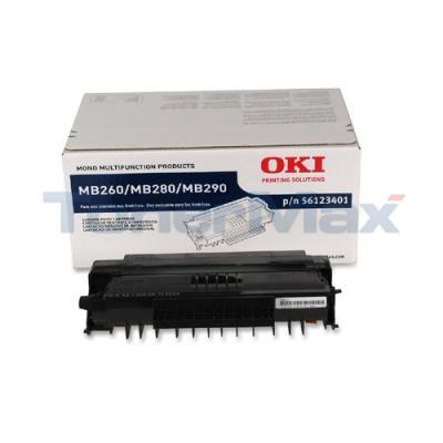 OKIDATA MB260 TONER CARTRIDGE BLACK 3K